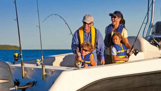 The U.S. Fish & Wildlife Service says sales of fishing licenses continue to rise.