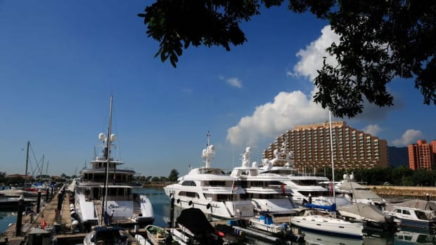 Azimut Benetti held its first Yacht Master Asia on Nov. 17-18. The second day of the event took place at the Gold Coast Yacht and Country Club in Hong Kong.
