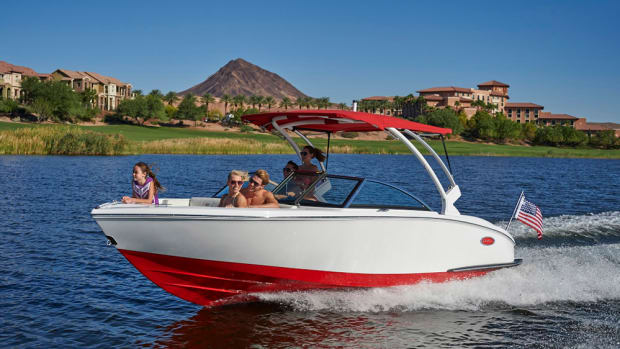 Cobalt's 2016 CS3, the newest boat in the Gateway Series, is marketed to younger buyers with its styling and price.