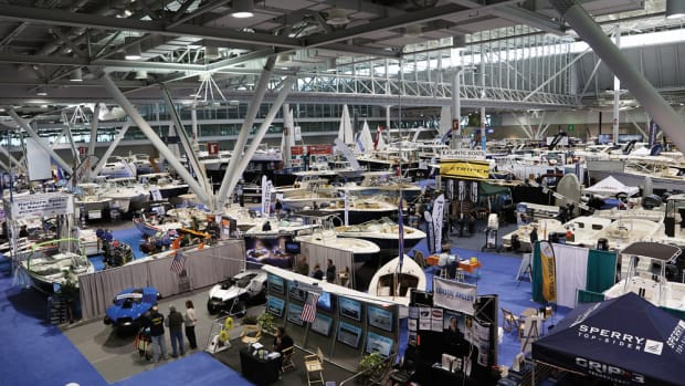 Exhibitors like the Boston convention center's open atmosphere.