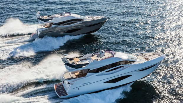 The 60 Flybridge is one of Numarine's new yachts.