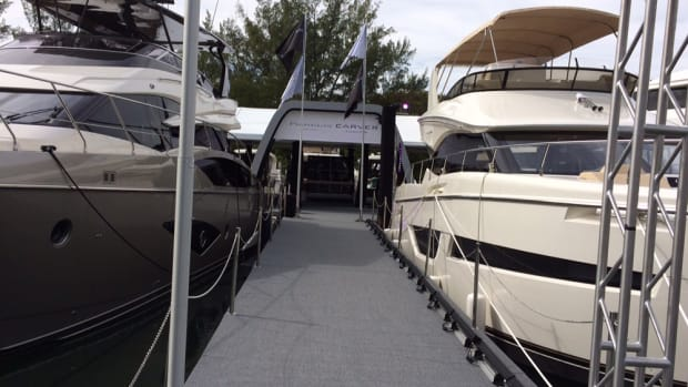 Marquis and Carver Yachts said it sold more than 12 boats at Yachts Miami Beach and that additional sales are pending.