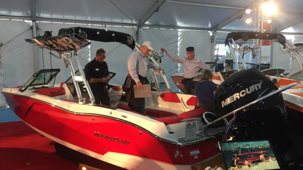 MasterCraft debuted the NXT20 Global edition outboard at the Miami International Boat Show.