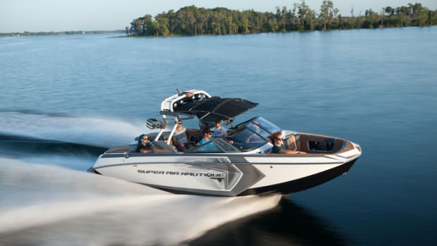 Nautique's new G23 won the Most Innovative Product award from the Water Sports Industry Association.