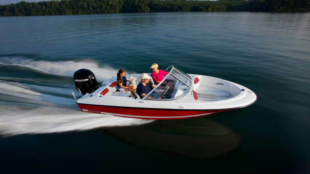 The Bayliner F18, which starts at $18,599, is designed to add fishability to the popular entry-level boat.