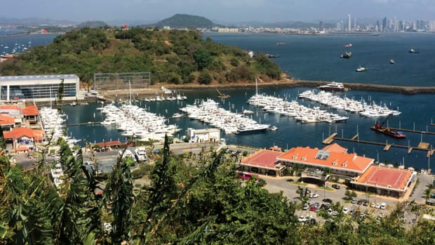 The 238-slip Flamenco Marina will serve as the venue for the debut of the Panama International Boat Show in June.