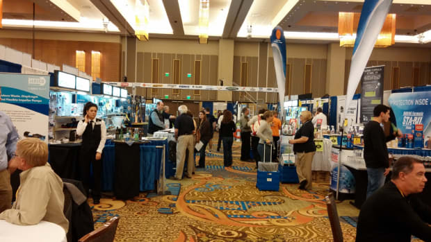There were more dealers and exhibitors at the Kellogg Marine Dealer Trade Show this year than in 2012 after Hurricane Sandy.