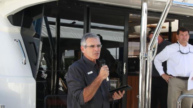 MarineMax Vacations president Lex Raas.