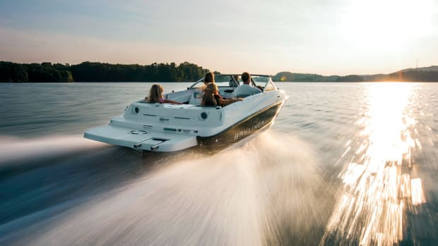 Bayliner builds sterndrive- and outboard-powered boats.