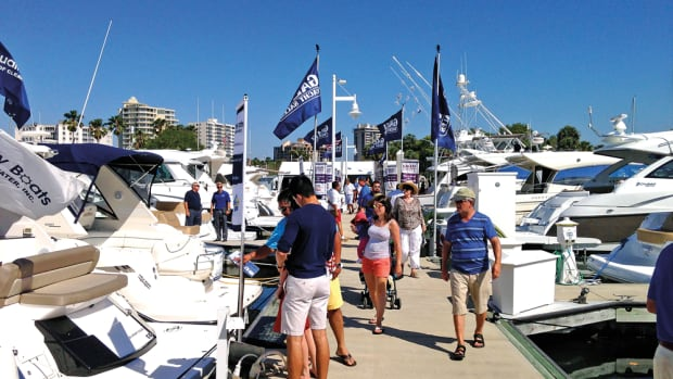 There were more boats and a higher percentage of serious shoppers at this year's Suncoast show exhibitors say.