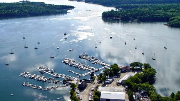 Formerly operated as Robinhood Marine Center, this Maine facility will be known as Derecktor/Robinhood after the sale.