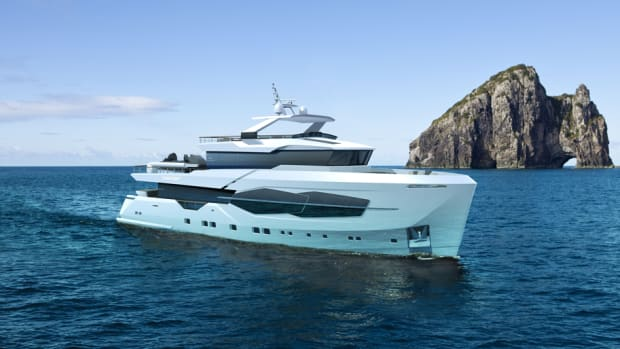 This is a rendering of Numarine's new 32XP, the first of which is being built.