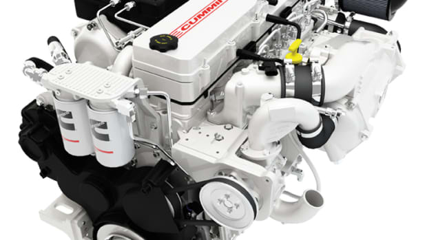 Common rail direct fuel injection helps make this Cummins diesel more efficient while enhancing its performance.