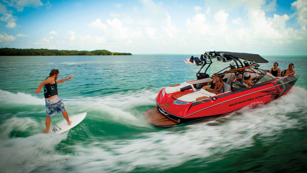 Salas says water sports are among the largest segments of the recreational boating industry.