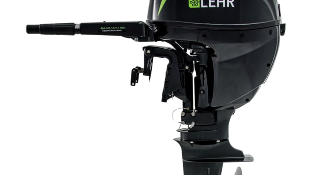 Lehr LLC introduced its fifth propane-powered outboard motor. The Lehr 25 joins the 15-, 9.9-, 5-, and 2.5-hp motors.