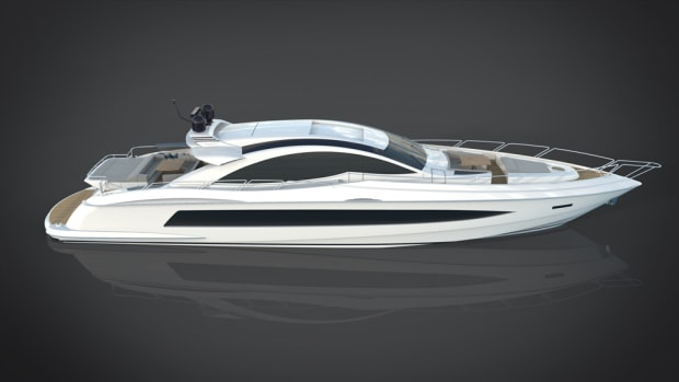 The Gladiator 90, which will be available in three power packages, is shown in this rendering.