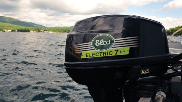 Elco introduced its first electric outboard this year, available in 5- and 7-hp equivalents, and a 25-hp model is planned for 2015.