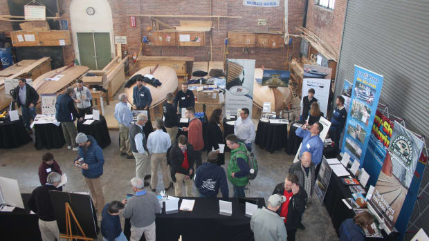 An estimated 200 job seekers attended the 10th annual Marine & Composites Industry Career Day Saturday in Newport, R.I.