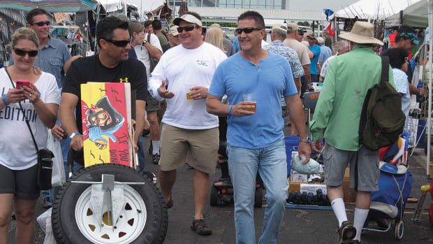 Active Interest Media acquired the Dania Marine Flea Market this year from its founder, Al Behrendt. AIM, the owner of Soundings Trade Only, produces the outdoor mini-mall for boaters and marine businesses, and several boat shows.