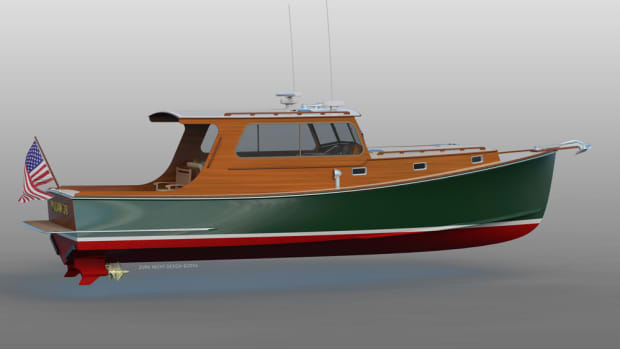 The Williams 38 is a new model from the Maine boatbuilder.