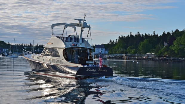 The 1,000th Hinckley jetboat is the Talaria 48 Flybridge Lucky Woman.