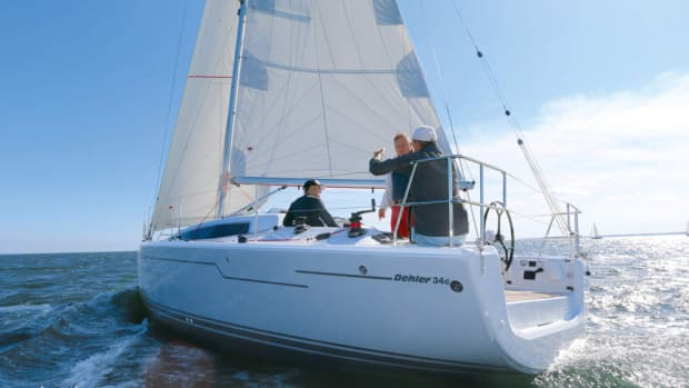 The Dehler 34 will debut at the Aug. 30-Sept. 4 HISWA Te Water Amsterdam Boat Show.