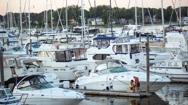 Marinas being rebuilt are incorporating bigger and wider slips to accommodate the trend toward larger boats. Marina operators making those types of changes say they're simply adapting to the current trends in boating.