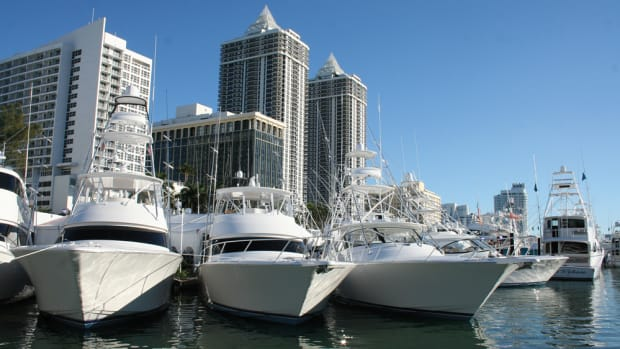 Dollar sales are up, as marine has fared better than some other luxury industries.
