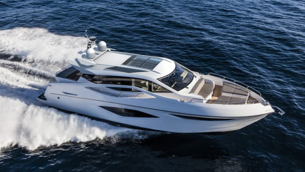 French Boat Market will carry Numarine models that include this 60 Hardtop.