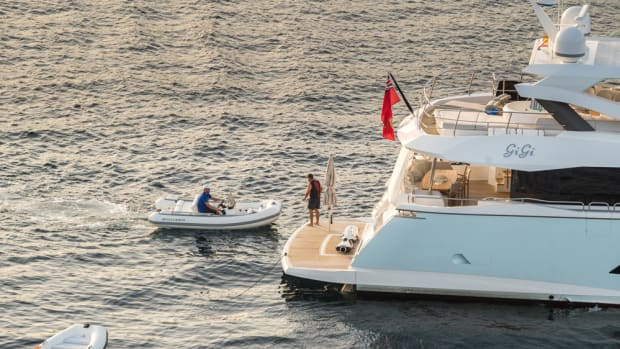 Willliams Jet Tenders provided transportation from 24 Sunseeker yachts to the Ultimate 2016 summer party. Photo by Quin Bisset.