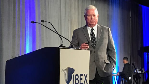 "NMMA president Thom Dammrich said at IBEX today that ""these really are good times in our industry, and fortunately those good times are going to continue."""