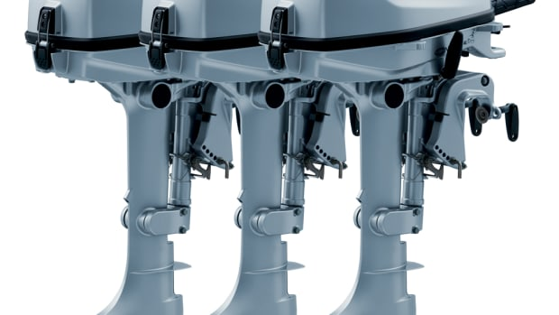 Honda Marine is unveiling new portable four-stroke outboard engines with its BF4 and BF6 models and has redesigned its BF5.
