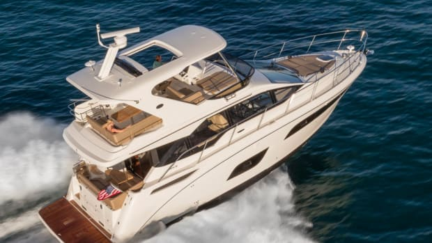 The 460 Fly will make its debut in Fort Lauderdale