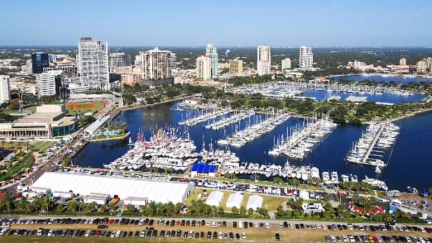 Organizers say the St. Petersburg Power & Sailboat Show will feature hundreds of powerboats and sailboats on display in the water and on land.