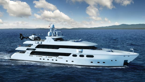Christensen Shipyards' Silver Lining will be at the Fort Lauderdale International Boat Show.