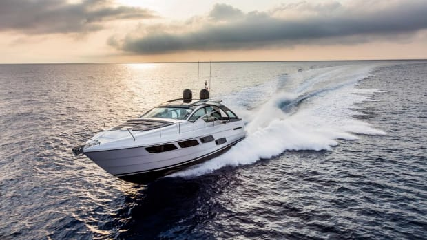 Pershing said its new 54.2-foot 5X coupe represents a new chapter in the 30-year history of the brand.