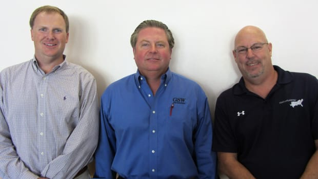 Clayton Smith (left), Rob Gueterman and Neal Trombley have new roles at the National Marine Representatives Association.
