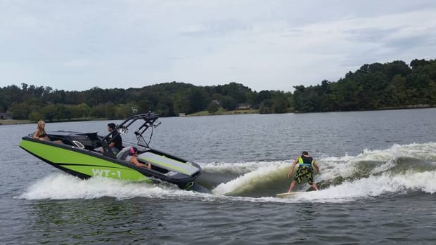 The wakesurfing boats by Heyday, designed by father-son team John and Ben Dorton with millennials in mind, will become part of the Bayliner lineup.