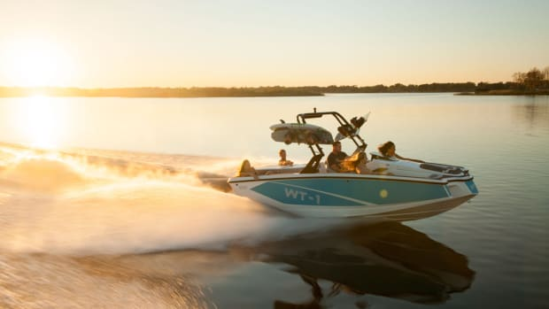Heyday Inboard introduced its WT-1 — which starts at $39,999 with a boat, motor and trailer — last year at Surf Expo.