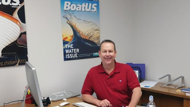 BoatUS magazine managing editor Rich Armstrong.