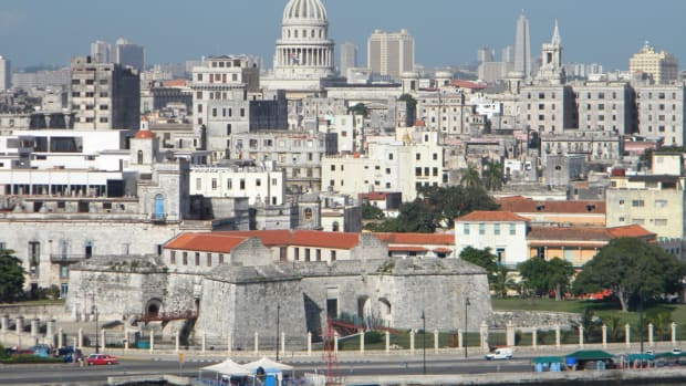Downtown Havana's Colonial Zone is being meticulously restored with funding from the United Nations' UNESCO program.