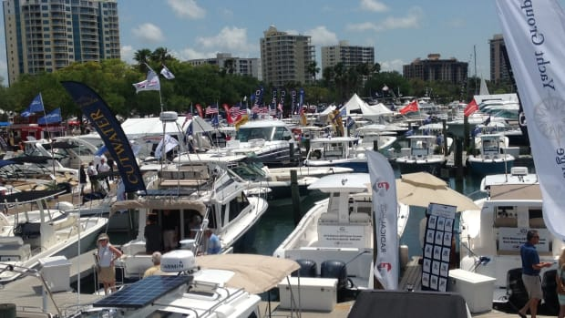 The 33rd annual Suncoast Boat Show, which was held last weekend, saw a significant gain in attendance. The event also featured more boats this year.
