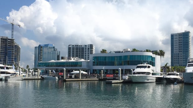 Marina Jack in Sarasota, Fla., was chosen National Marina of the Year for 2015 in the large marina category.