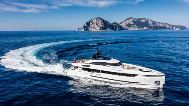 Columbus Yachts will debut the new 40M Sport Hybrid M/Y Divine at the Sept. 28-Oct. 1 Monaco Yacht Show.