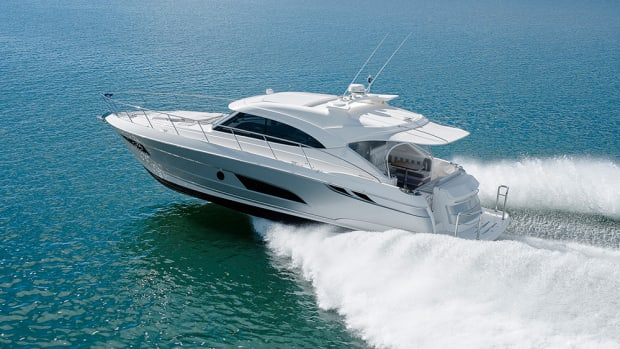 Debuts of new boats that include Riviera's 4800 Sport Yacht have prompted Miami show organizers to improve the event's VIP experience.