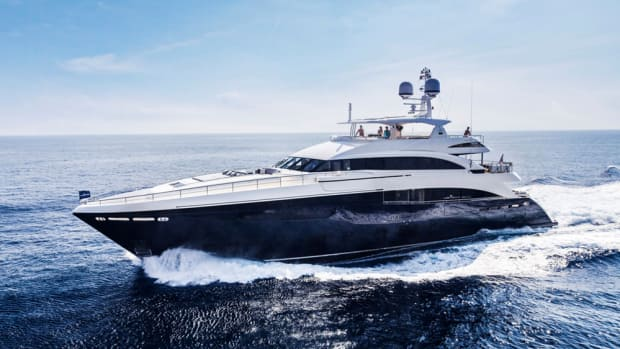 The 40-meter Princess will be among the product debuts in February at Yachts Miami Beach.