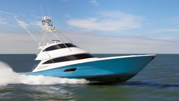 Viking introduced the 92 Convertible at the Fort Lauderdale International Boat show, where Bill and Bob Healey received the Lifetime Achievement Award from Active Interest Media's Marine Group.
