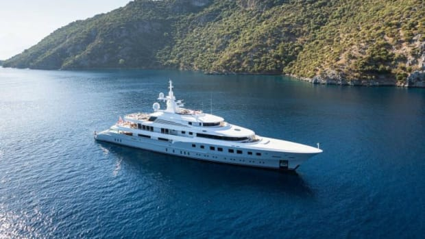 Axioma, a 236-foot Dunya, will be the largest superyacht at the Yachts Miami Beach Superyacht Miami, an invitation-only exhibit at Island Gardens Deep Harbour on Watson Island.