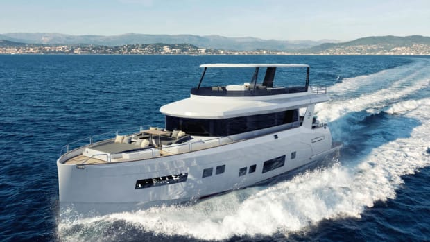 The Sirena 64 will make its European debut in January at Boot Dusseldorf in Germany and its U.S. debut at Yachts Miami Beach in February.