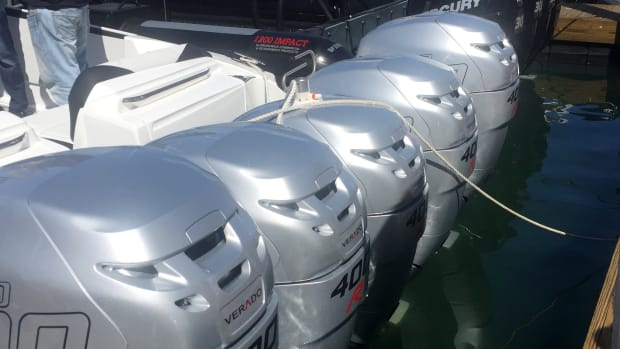 The NMMA said sales of outboard engines 300 hp and higher rose 18.3 percent last year.